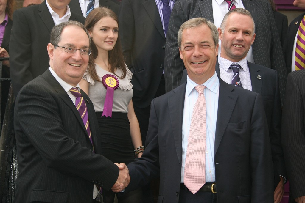 Keith Rowe & Nigel Farage 1